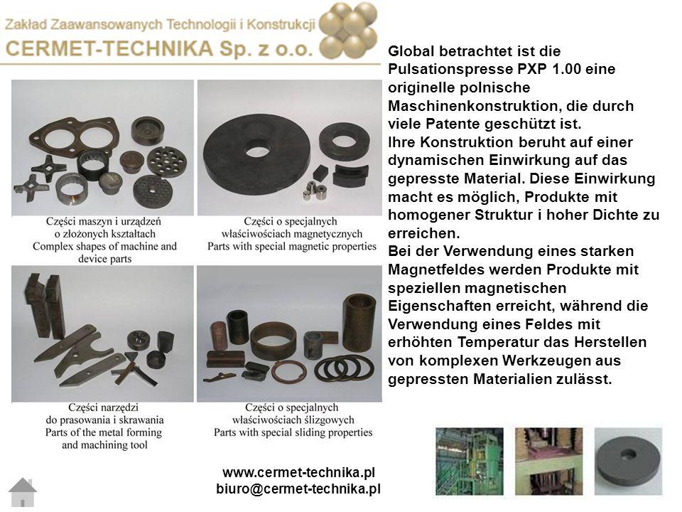 WIETPOL Die Metallbearbeitung bildet 65% unserer Produktion.