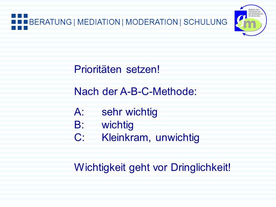 BERATUNG | MEDIATION | MODERATION | SCHULUNG Das Pareto-Prinzip Wir glauben, dass zwischen Aufwand und Ergebnis ein proportionales Verhältnis besteht.