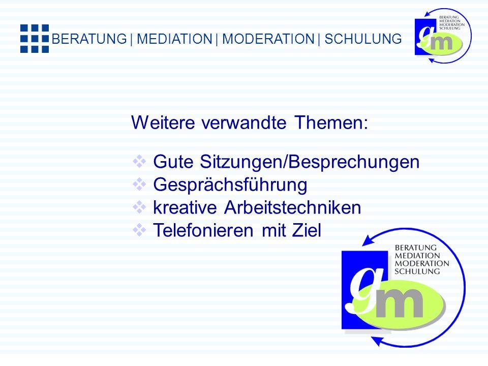 BERATUNG | MEDIATION | MODERATION | SCHULUNG 10 Telefonsünden 1.Zielsetzung ist unklar 2.improvisierte Vorbereitung 3.schlechter Zeitpunkt 4.Telefonnu