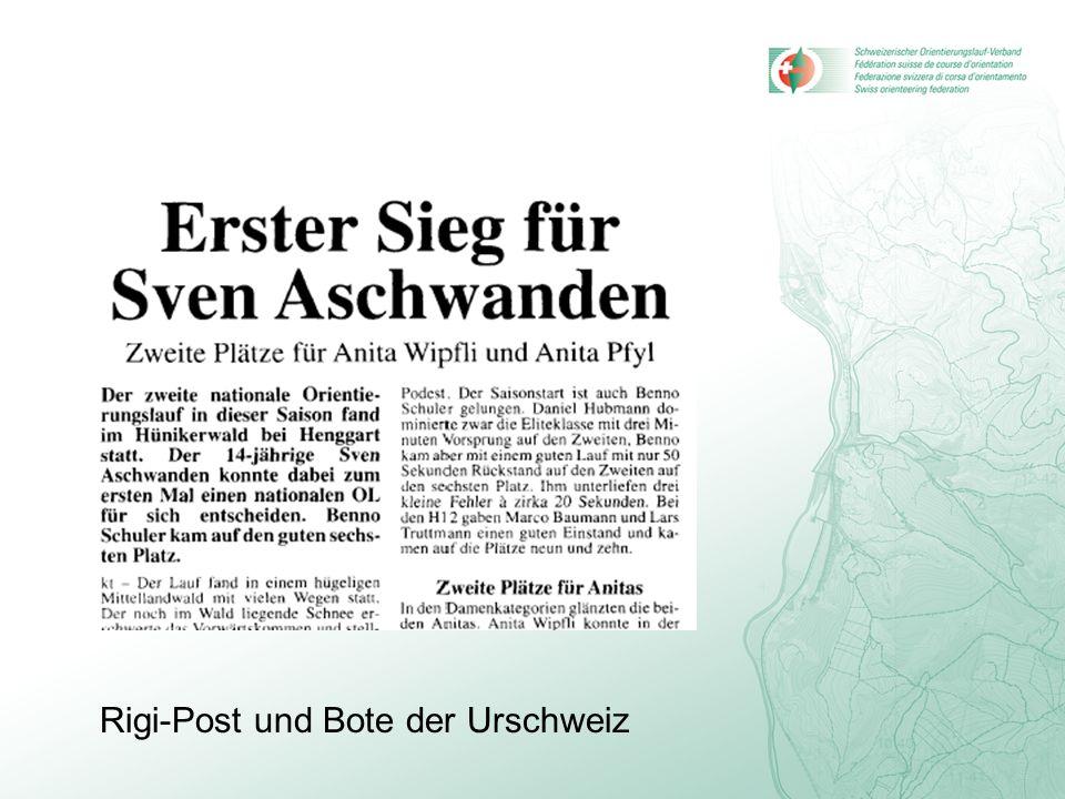Rigi-Post und Bote der Urschweiz