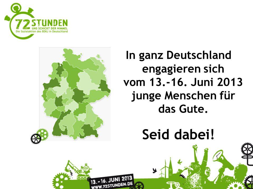 Ihr wollt auf dem Laufenden bleiben? 72stunden2013 72stundenaktion www.72stunden.de