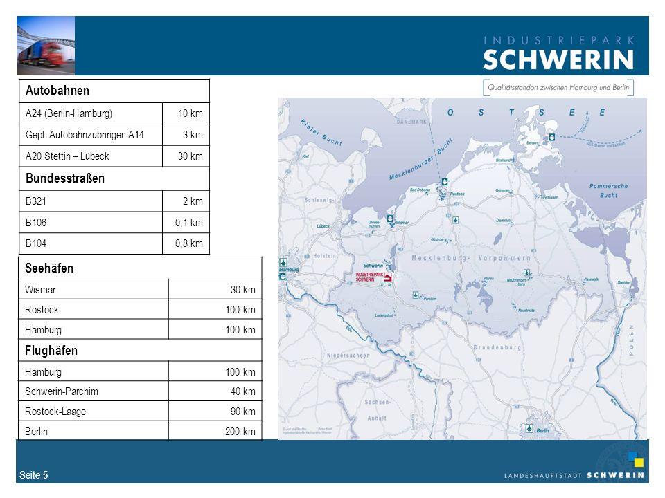 Seite 5 Autobahnen A24 (Berlin-Hamburg)10 km Gepl.