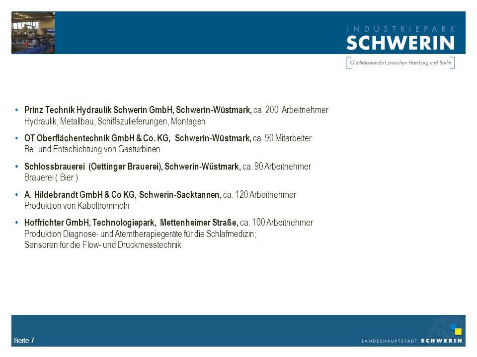 Seite 7 Prinz Technik Hydraulik Schwerin GmbH, Schwerin-Wüstmark, ca.
