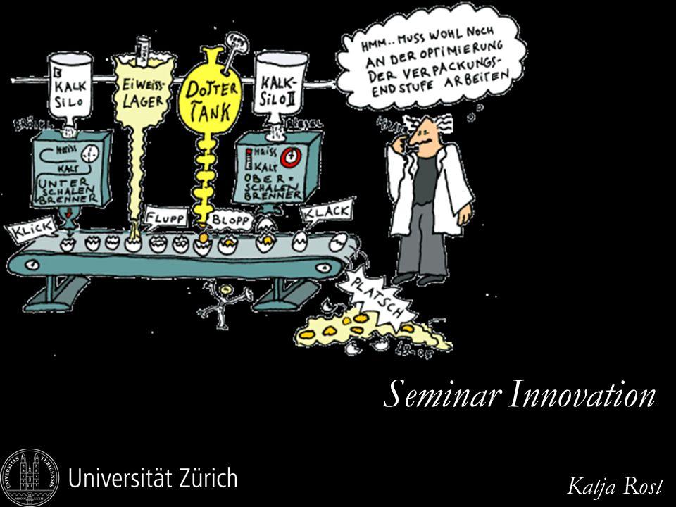 EURAM 2007, May 16 – 19, Positive Organizational Studies and Organizational Energy Seminarablauf oDavid Smith (2006), Exploring Innovation, McGraw-Hill, London u.a.