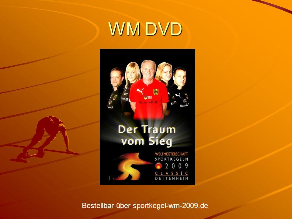 WM DVD Bestellbar über sportkegel-wm-2009.de