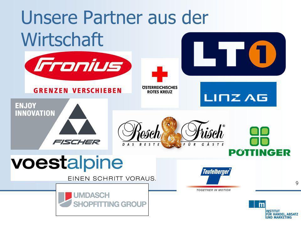 9 Unsere Partner aus der Wirtschaft