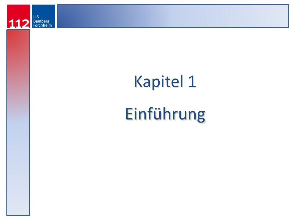 Kapitel 1Einführung Einführung