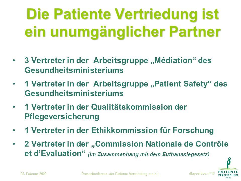Die Patiente Vertriedung ist ein unumgänglicher Partner 05.