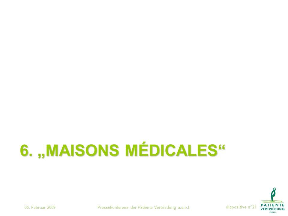 6. MAISONS MÉDICALES 05.