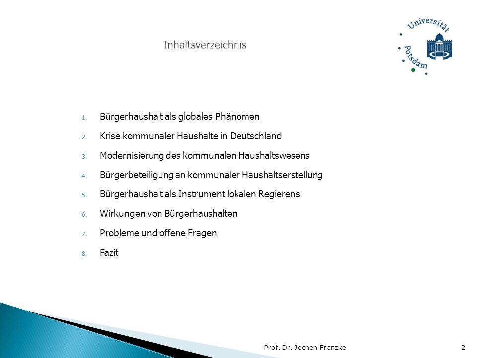Prof. Dr. Jochen Franzke13
