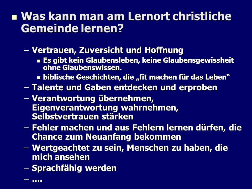 Kirchlicher Bildungsbeitrag im Kontext der Ganztagesschule Jugend arbeit DiakonieKirchenmusik u.