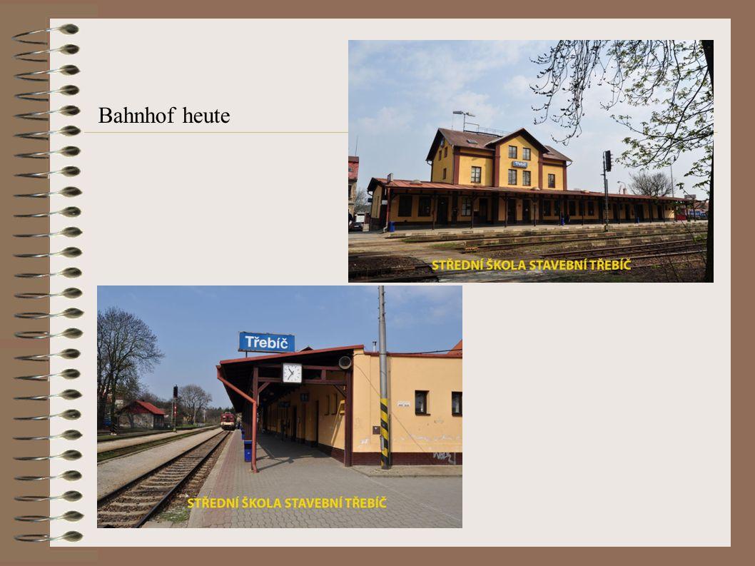 Bahnhof heute