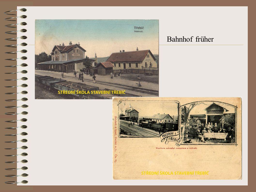 Bahnhof früher