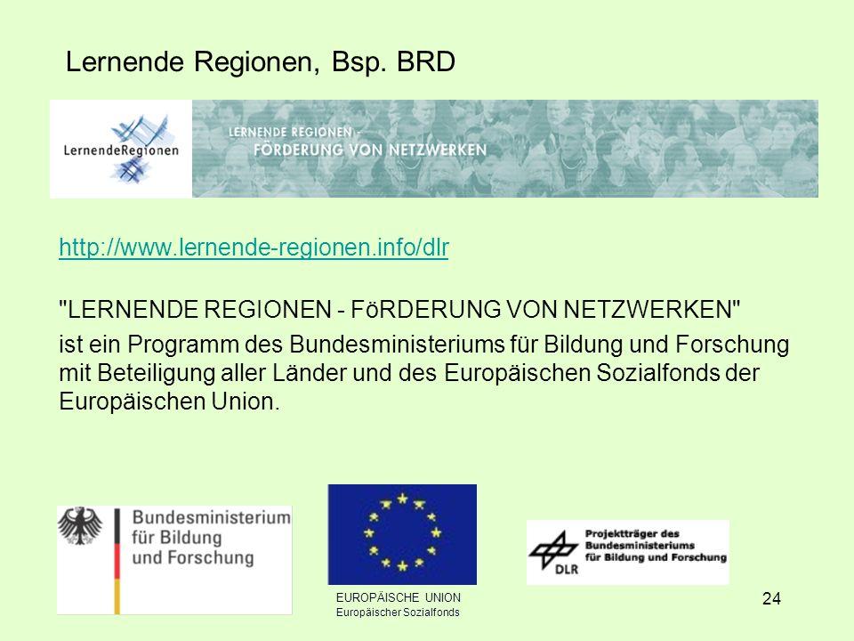 24 Lernende Regionen, Bsp.