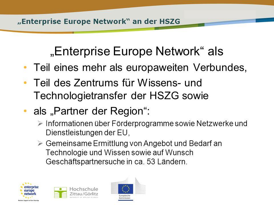 PLACE PARTNERS LOGO HERE Title of the presentation | Date | # Aufgaben des enterprise europe network Recherchen zu Ausschreibungen für Aufträge und Lieferungen, benötigter Technologie und Know-how, Geschäftspartnerschaften, Forschungskooperation.