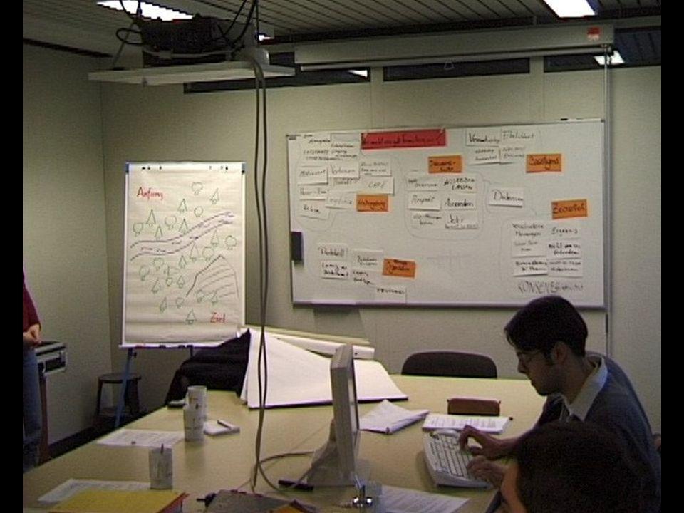 QuellenGruppenarbeitWerkzeugeEinsatzZusammenfassung 30.11.2001Mensch-Computer-InteraktionSeite 9 Beispiel Karoshi Systems Gruppenarbeit