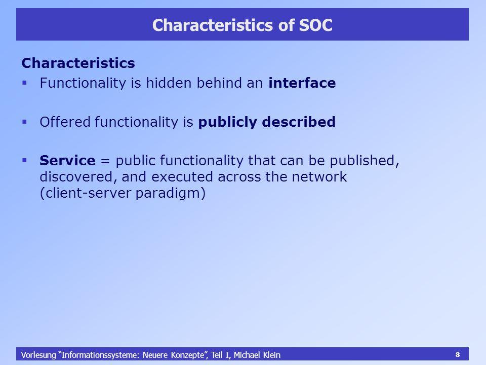 39 Ausblick: Semantic Web Services