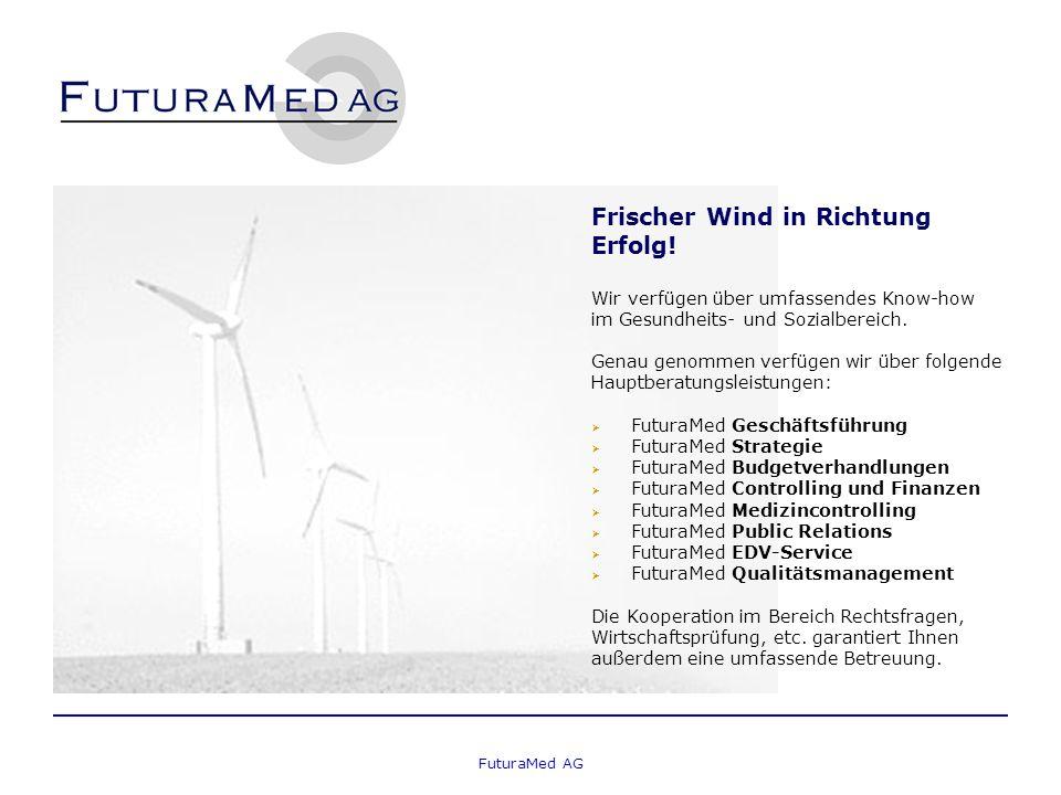 FuturaMed AG Frischer Wind in Richtung Erfolg.