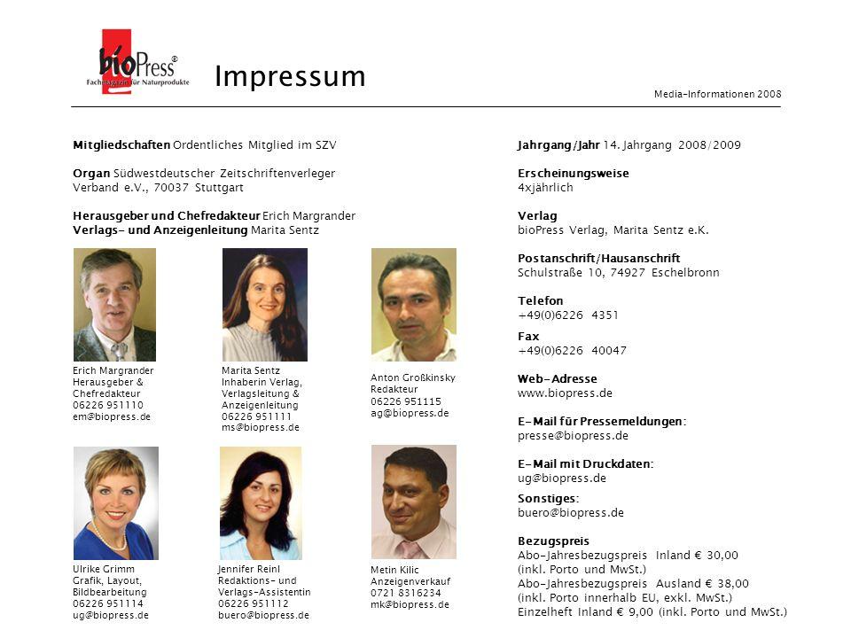 Mitgliedschaften Ordentliches Mitglied im SZV Organ Südwestdeutscher Zeitschriftenverleger Verband e.V., 70037 Stuttgart Herausgeber und Chefredakteur