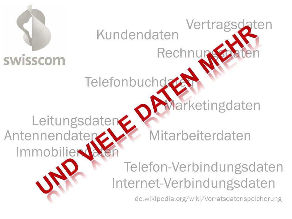 de.wikipedia.org/wiki/Vorratsdatenspeicherung Kundendaten Telefonbuchdaten Internet-Verbindungsdaten Telefon-Verbindungsdaten Rechnungsdaten Vertragsd