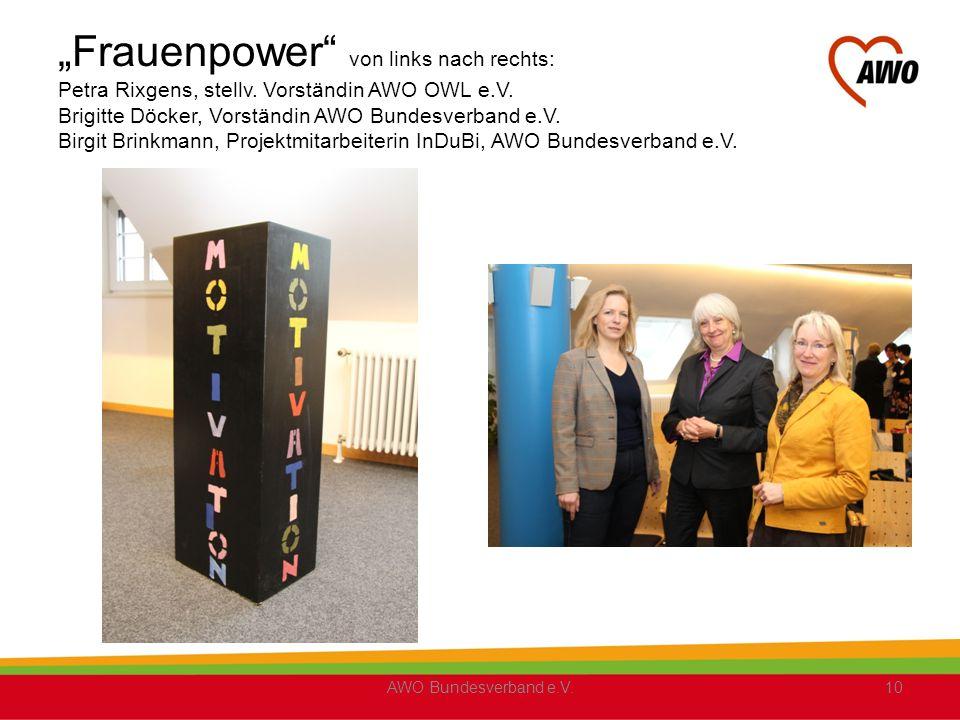 Frauenpower von links nach rechts: Petra Rixgens, stellv.