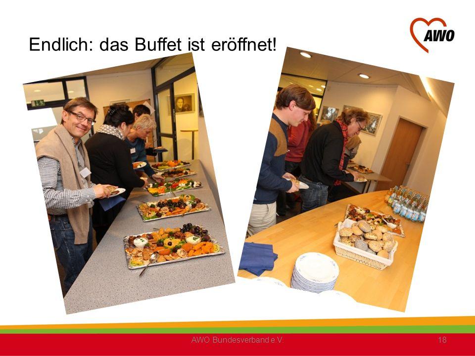 Endlich: das Buffet ist eröffnet! AWO Bundesverband e.V.18