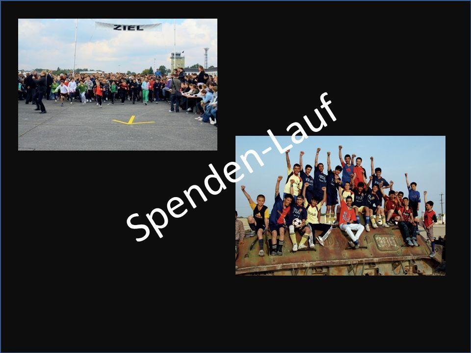Spenden-Lauf