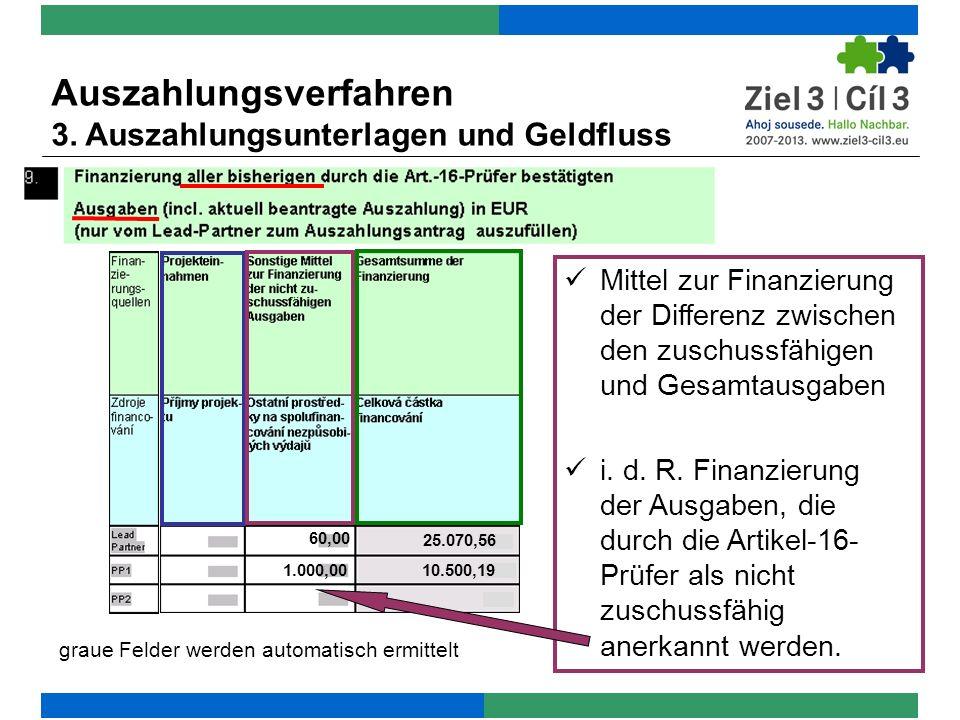 graue Felder werden automatisch ermittelt 60,00 1.000,00 25.070,56 10.500,19 Mittel zur Finanzierung der Differenz zwischen den zuschussfähigen und Gesamtausgaben i.