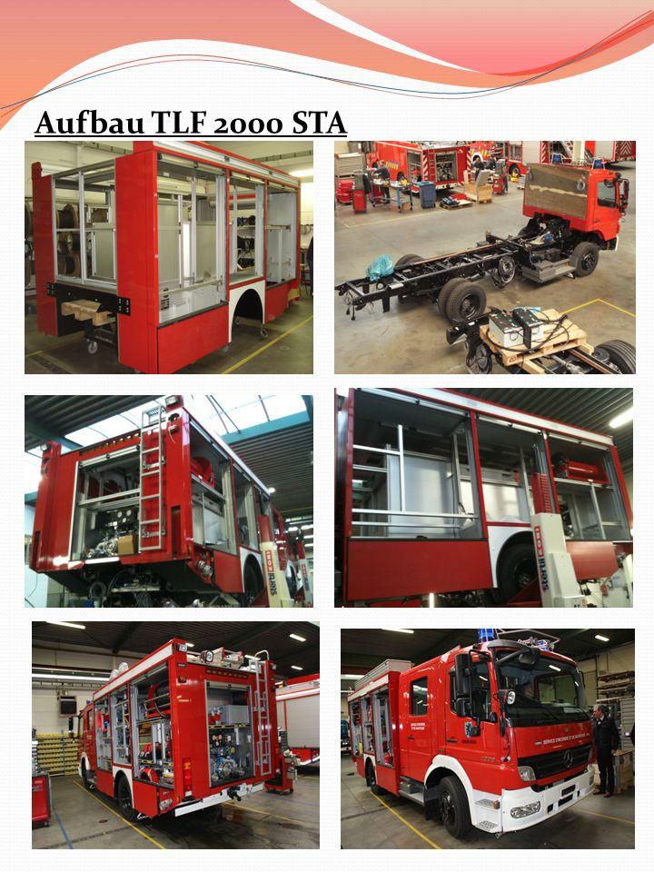 Aufbau TLF 2000 STA