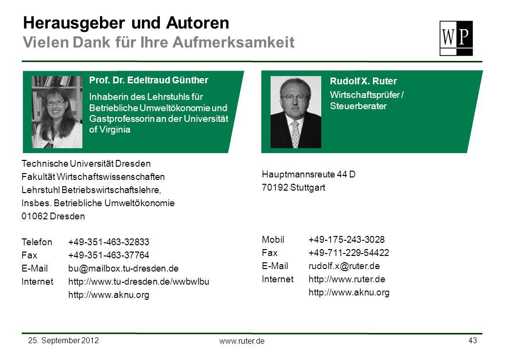 25. September 2012 43 www.ruter.de Hauptmannsreute 44 D 70192 Stuttgart Mobil +49-175-243-3028 Fax+49-711-229-54422 E-Mail rudolf.x@ruter.de Interneth