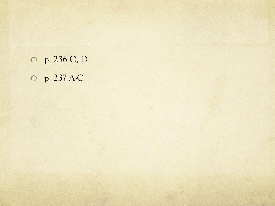 p. 236 C, D p. 237 A-C