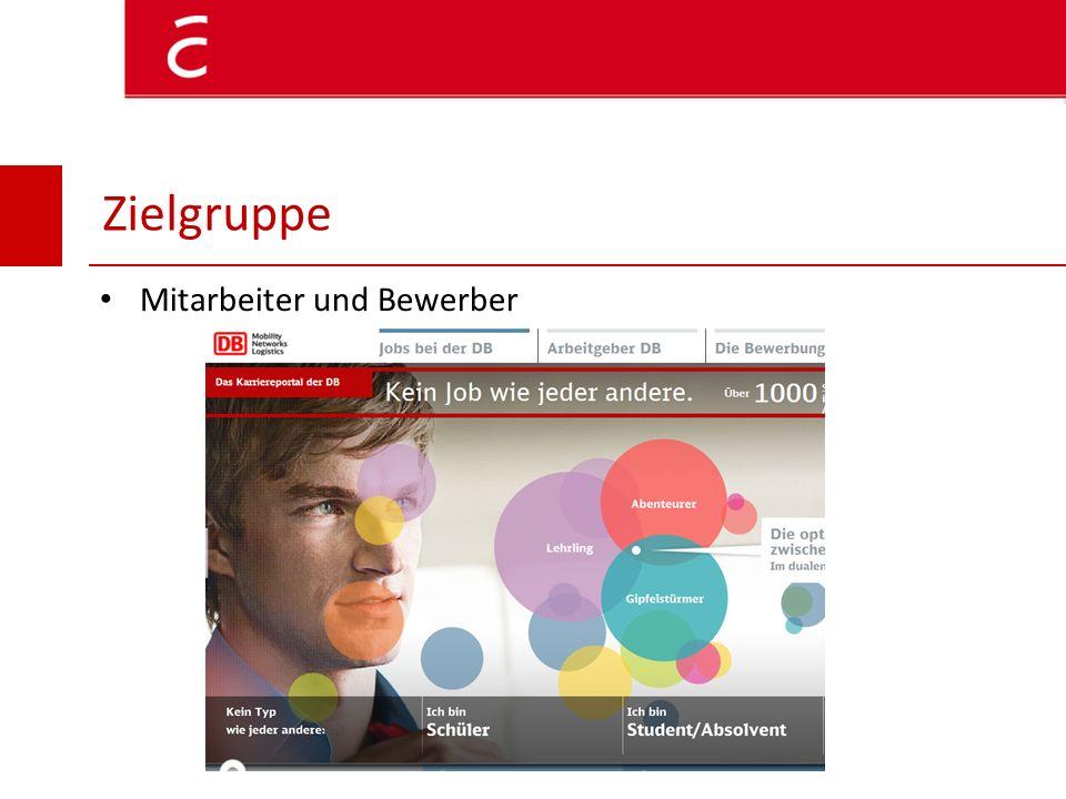 Öffentlichkeit (Bürger) Kooperationspartner/Unternehmen Zielgruppe