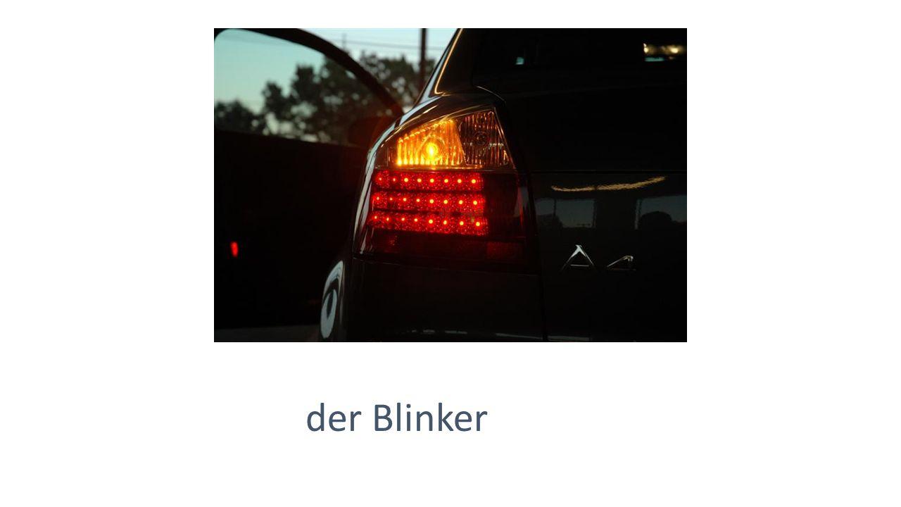 der Blinker