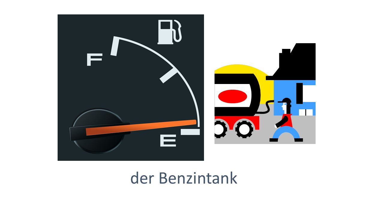 der Benzintank