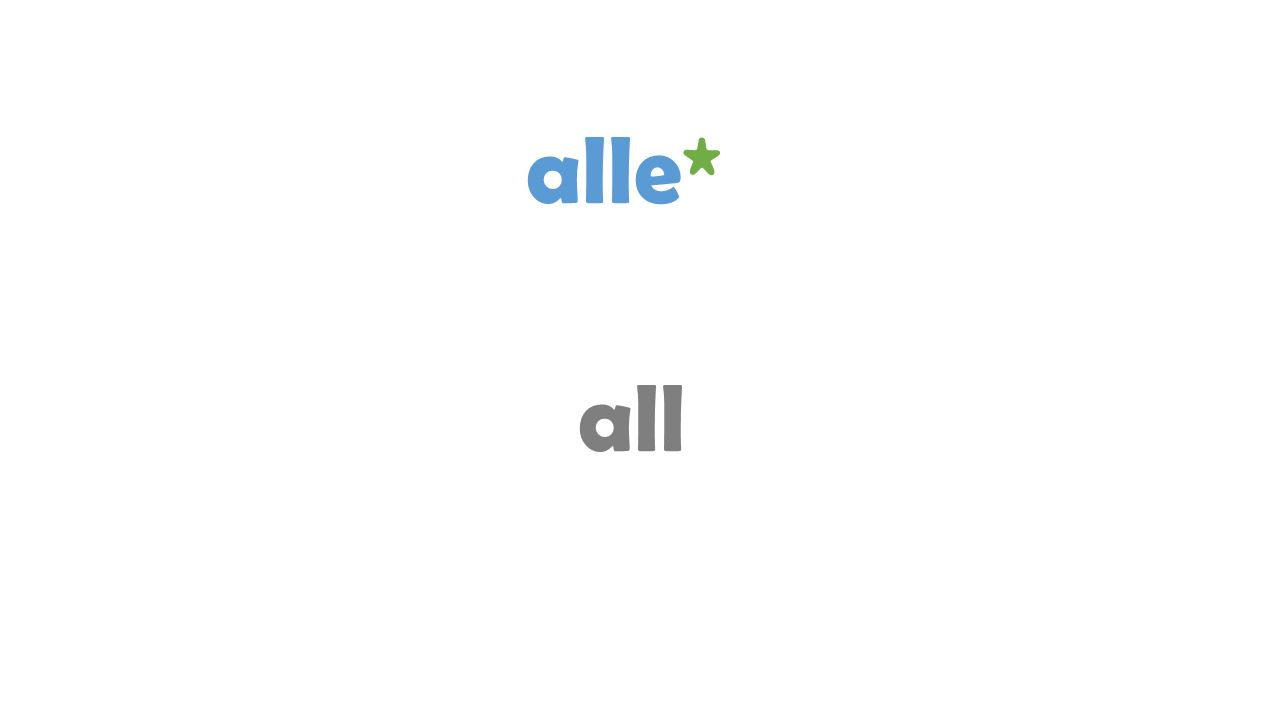 alle* all