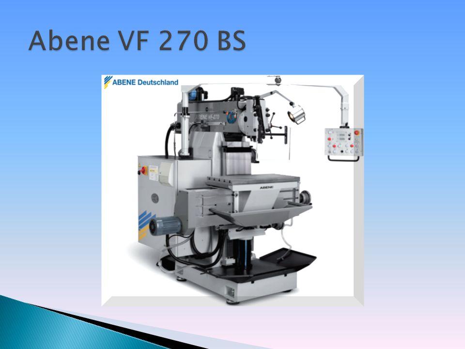 CNC-gesteuerte Vert.-/Horiz.-Fräsmaschine Verfahrwege: X 800 mm, Y 500 mm, Z 475 mm Antriebsleistung: 7,5 kW Drehzahlregelung von 55 - 5.000 U/min.