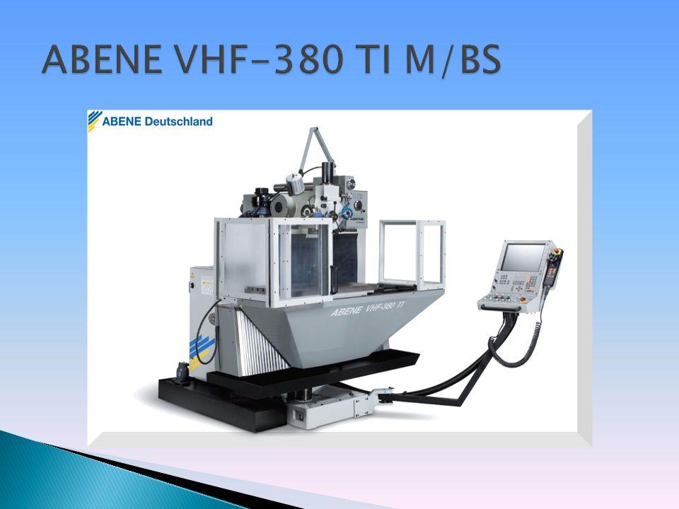 CNC-Gesteuerte Vert.-/Gesteuerte Vert.- /Horiz.-Fräsmaschine Horiz.-Fräsmaschine Antriebsleistung: 7,5 kW Drehzahlregelung von 55 - 4.000 U/min.