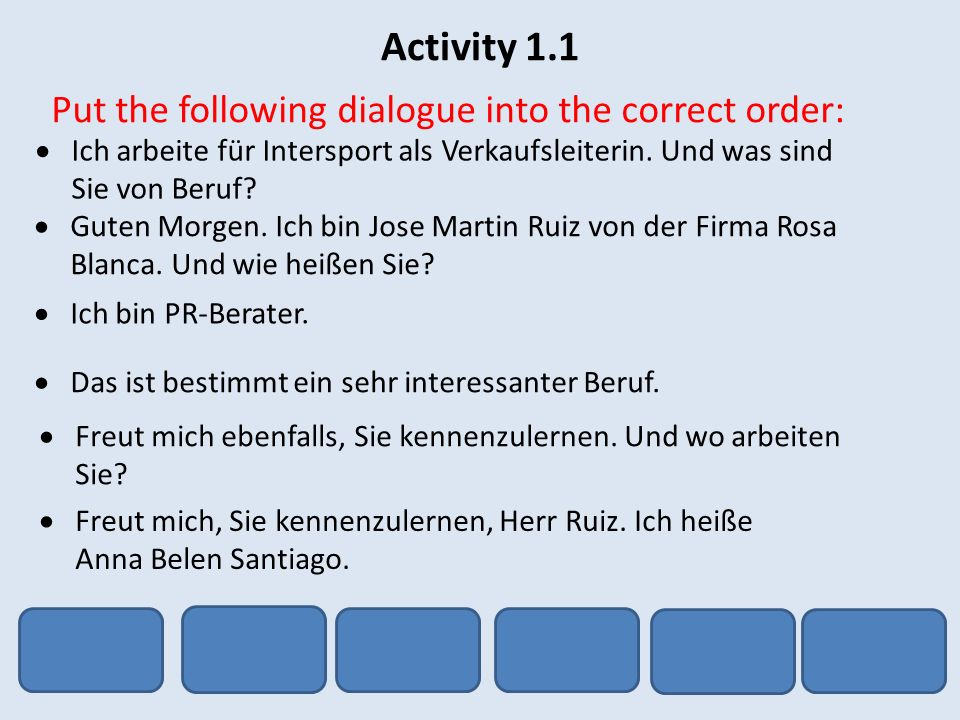 Activity 1.7 Write a short paragraph about yourself.