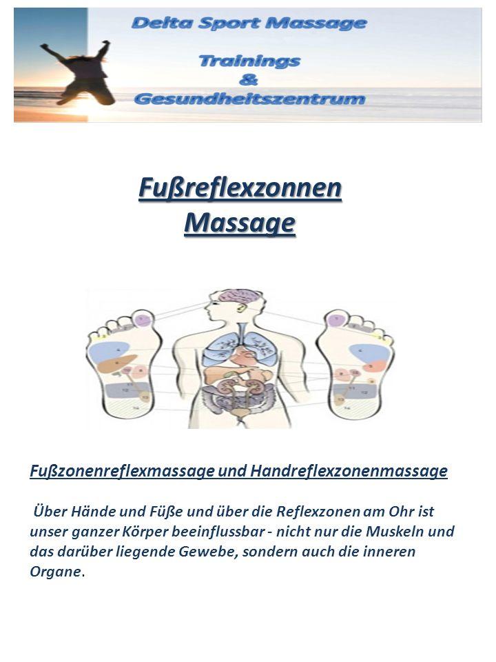Fußreflexzonnen Massage Fußzonenreflexmassage und Handreflexzonenmassage Über Hände und Füße und über die Reflexzonen am Ohr ist unser ganzer Körper b