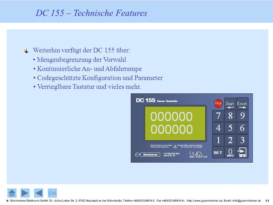 11 Gönnheimer Elektronic GmbH, Dr. Julius Leber Str. 2, 67433 Neustadt an der Weinstraße, Telefon +49(6321)49919-0, Fax +49(6321)49919-41, http://www.