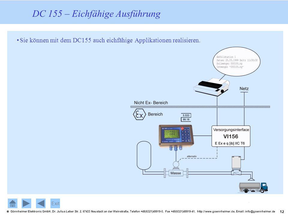 12 Gönnheimer Elektronic GmbH, Dr. Julius Leber Str. 2, 67433 Neustadt an der Weinstraße, Telefon +49(6321)49919-0, Fax +49(6321)49919-41, http://www.