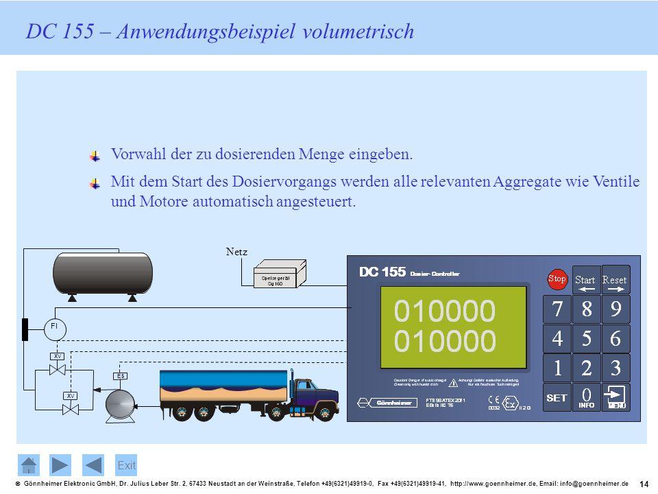 14 Gönnheimer Elektronic GmbH, Dr. Julius Leber Str. 2, 67433 Neustadt an der Weinstraße, Telefon +49(6321)49919-0, Fax +49(6321)49919-41, http://www.