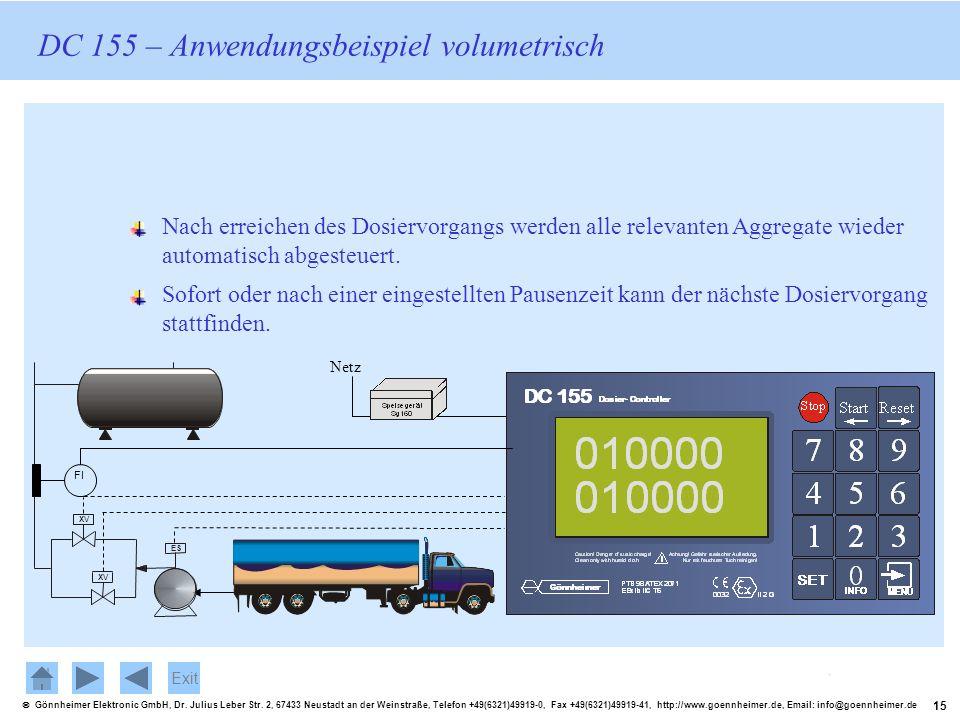15 Gönnheimer Elektronic GmbH, Dr. Julius Leber Str. 2, 67433 Neustadt an der Weinstraße, Telefon +49(6321)49919-0, Fax +49(6321)49919-41, http://www.