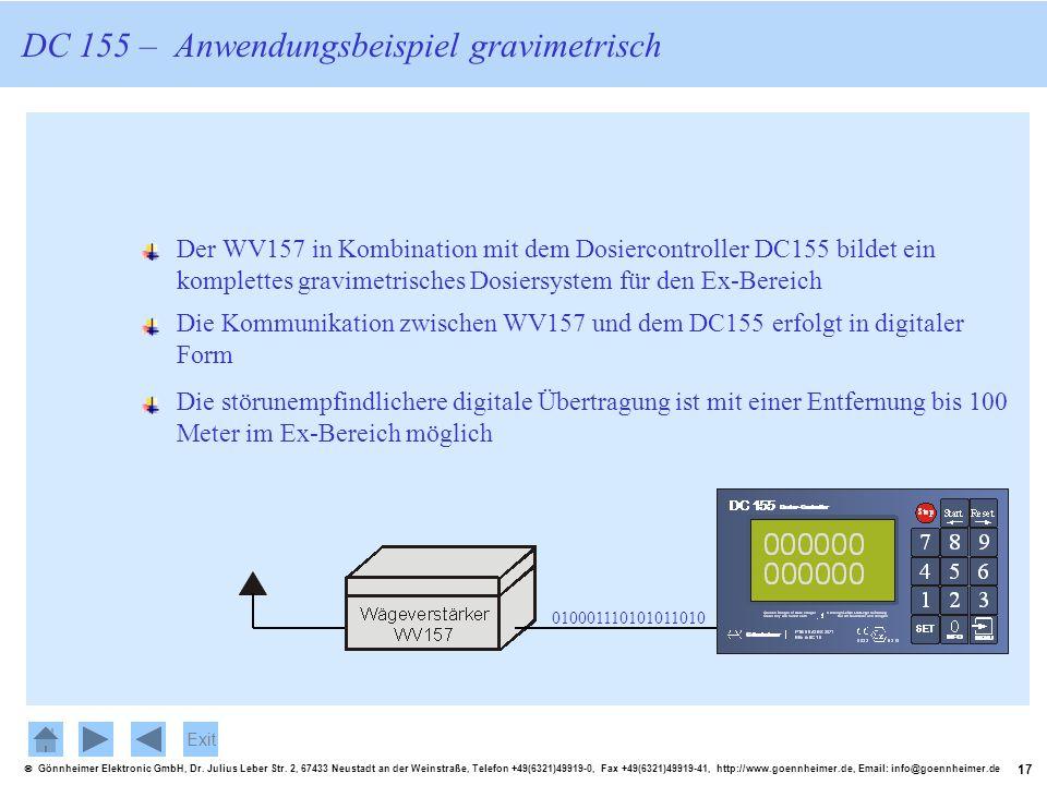 17 Gönnheimer Elektronic GmbH, Dr. Julius Leber Str. 2, 67433 Neustadt an der Weinstraße, Telefon +49(6321)49919-0, Fax +49(6321)49919-41, http://www.