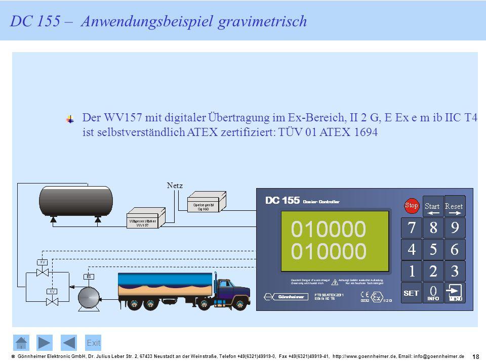 18 Gönnheimer Elektronic GmbH, Dr. Julius Leber Str. 2, 67433 Neustadt an der Weinstraße, Telefon +49(6321)49919-0, Fax +49(6321)49919-41, http://www.