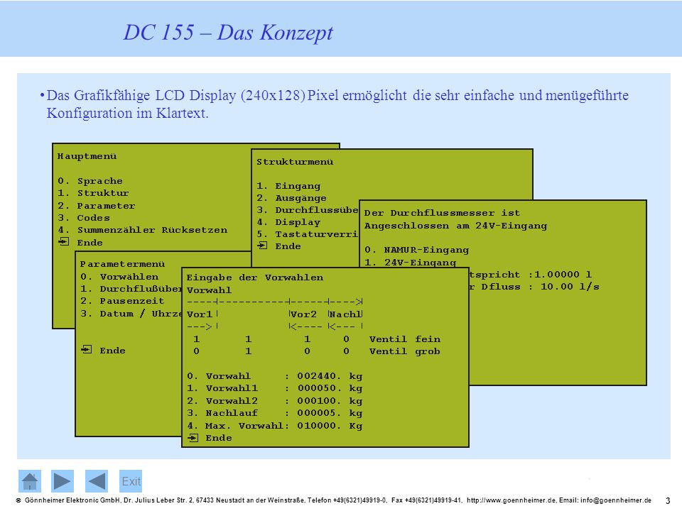 3 Gönnheimer Elektronic GmbH, Dr. Julius Leber Str. 2, 67433 Neustadt an der Weinstraße, Telefon +49(6321)49919-0, Fax +49(6321)49919-41, http://www.g