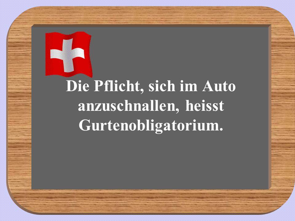 Sprache: Der Deutschschweizer Dialekt als Ganzes ist mit dem Hochdeutschen etwa so eng verwandt wie ostfriesisches Platt mit der niederbayerischen Mundart.