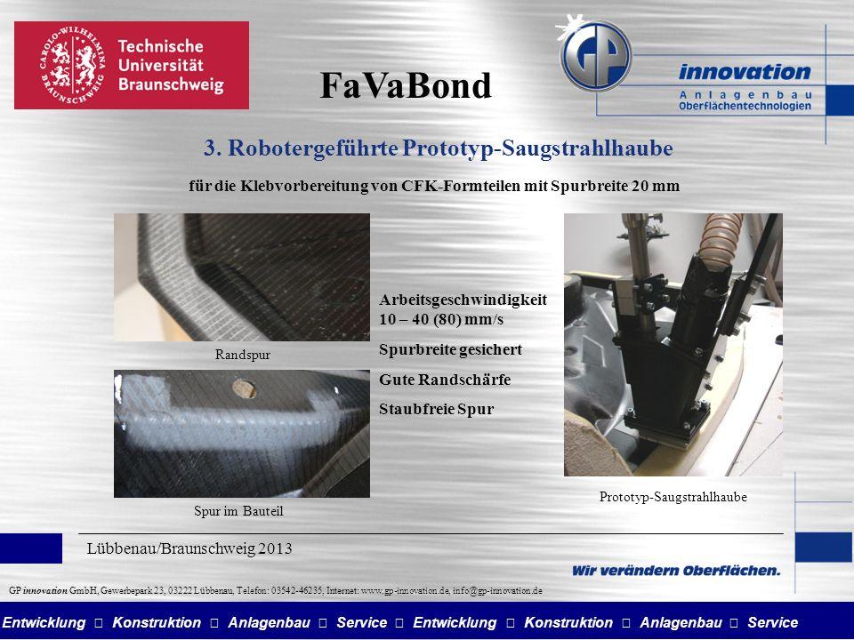 Entwicklung Konstruktion Anlagenbau Service GP innovation GmbH, Gewerbepark 23, 03222 Lübbenau, Telefon: 03542-46235, Internet: www.gp-innovation.de, info@gp-innovation.de 3.
