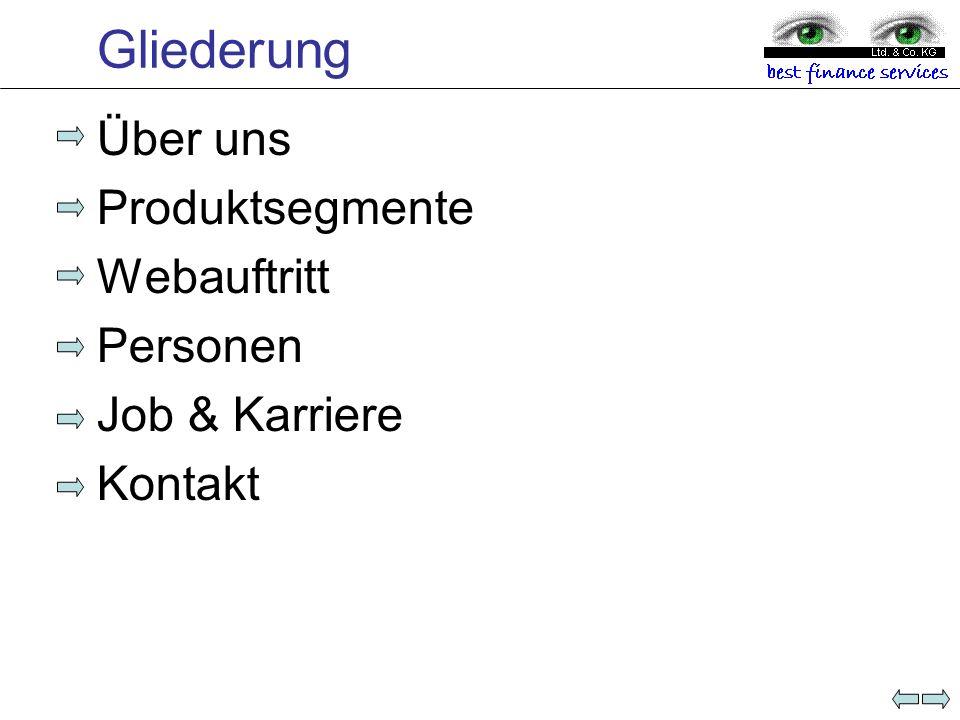 Über uns Gegründet:11.2005 Geschäftszweck:Vermittlung von Finanzdienstleistungen & Waren Firmensitz:Ettmannsdorferstr.
