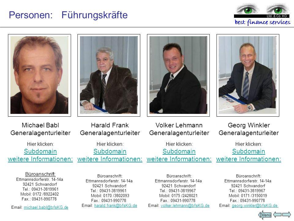 Büroanschrift: Ettmannsdorferstr. 14-14a 92421 Schwandorf Tel.: 09431-3819967 Mobil: 0171 /3150019 Fax.: 09431-990778 Email: georg.winkler@bfsKG.degeo